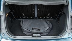 Nuova Fiat 500 Elettrica: bagagliaio posteriore