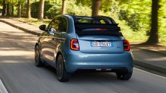 Nuova Fiat 500 elettrica Cabrio