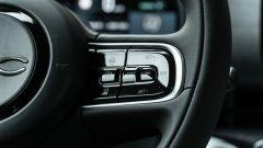 Nuova Fiat 500 Elettrica: dettaglio volante