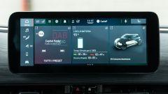 Nuova Fiat 500 Elettrica: display centrale