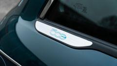 Nuova Fiat 500 Elettrica: effigie posteriore