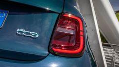 Nuova Fiat 500 elettrica, fari posteriori
