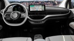 Nuova Fiat 500 elettrica, gli interni
