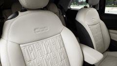 Nuova Fiat 500 elettrica, i sedili anteriori