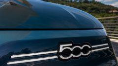 Nuova Fiat 500 elettrica, il frontale