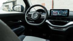 Nuova Fiat 500 Elettrica: il posto di guida