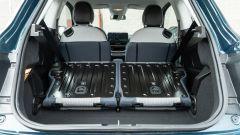 Nuova Fiat 500 Elettrica: vano con divanetto reclinato