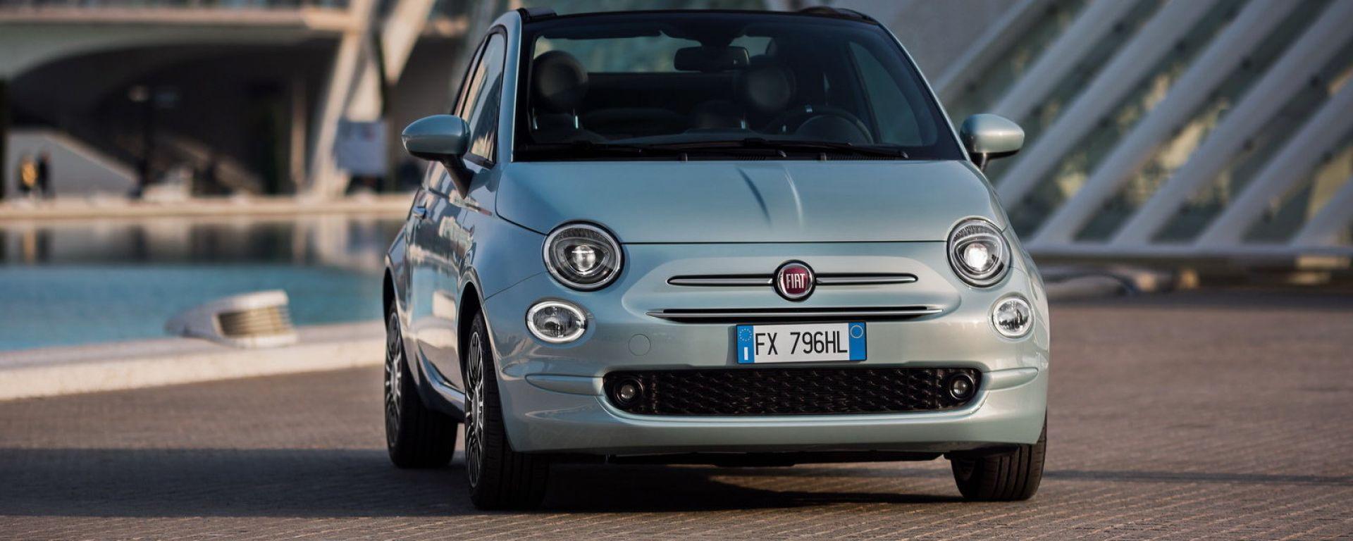 Nuova Fiat 500 Hybrid: inizia l'era dell'elettrificazione di FCA