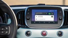 Nuova Fiat 500 Hybrid: una schermata del sistema multimediale
