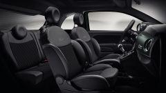 Nuova Fiat 500 Rockstar: particolare degli interni