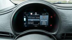 Nuova Fiat 500e Icon: il quadro strumenti digitale da 7 pollici