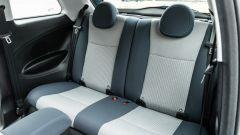 Nuova Fiat 500e Icon: lo spazio dietro è un po' sacrificato