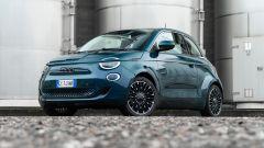 Nuova Fiat 500e Icon: stile evoluto con dettagli chic