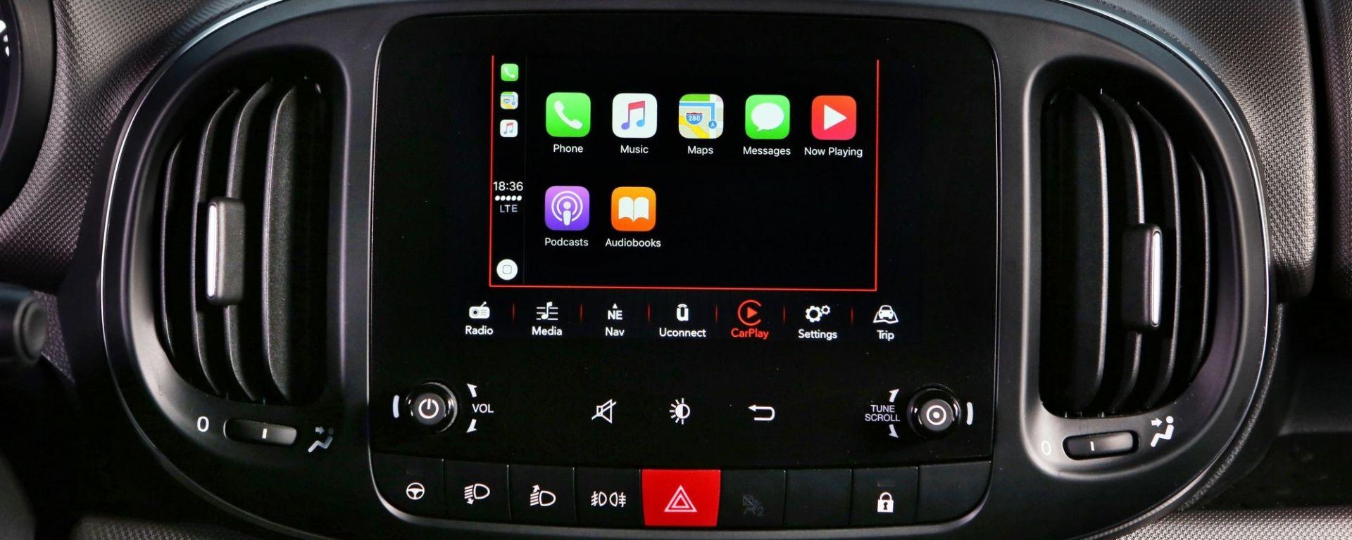Nuova Fiat 500L con Apple CarPlay