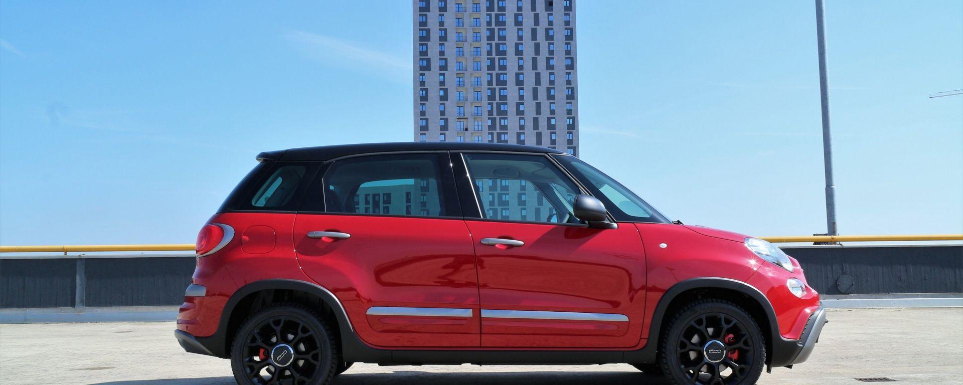 Fiat 500L Cross: il baby-SUV da città