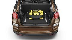 Nuova Fiat 500L: gli accessori per fissare i bagagli