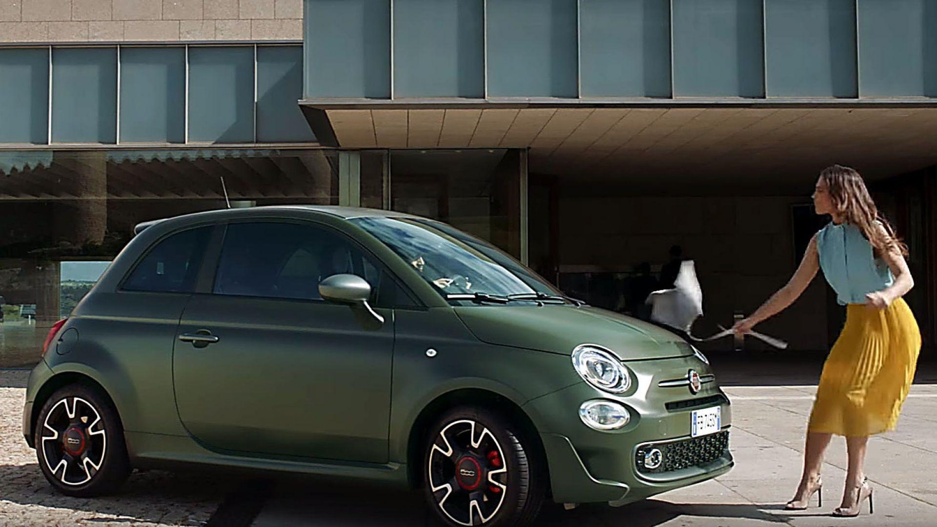 video auto  nuova fiat 500s  lo spot  u00e8 da ridere  il