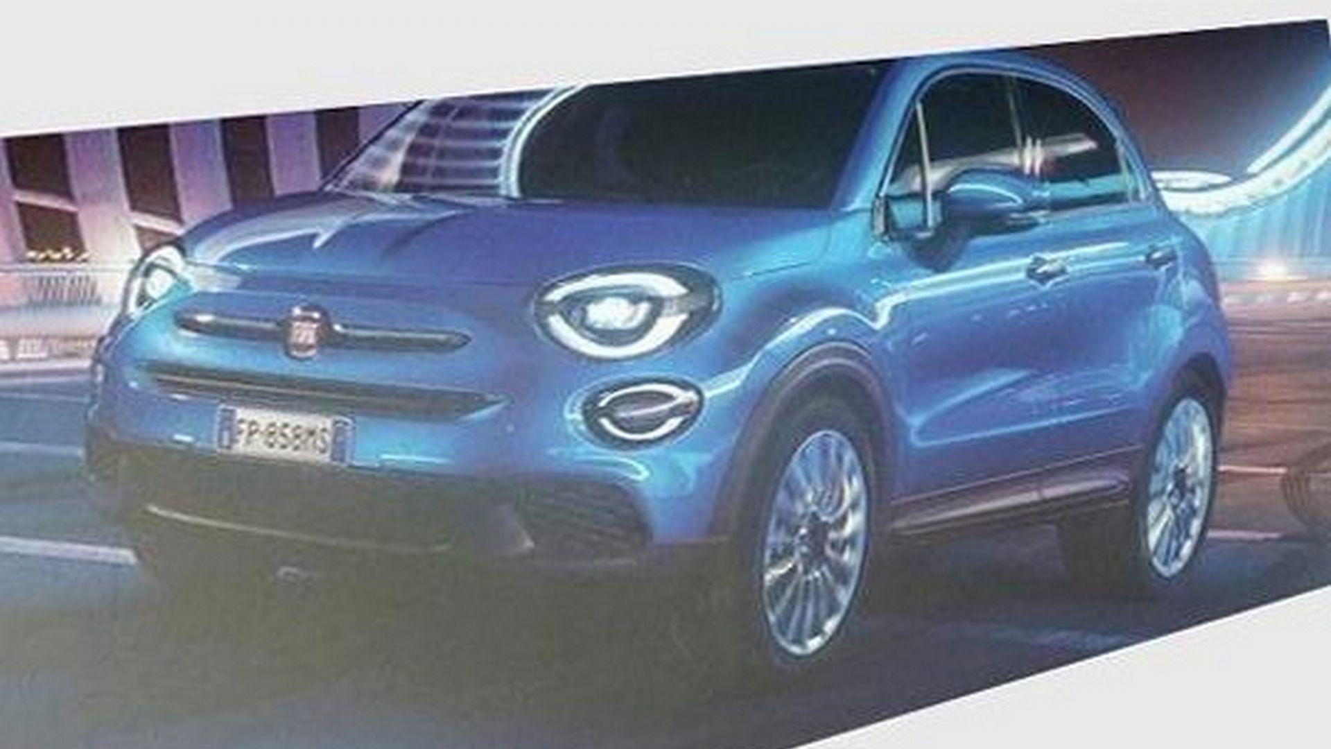 Fiat 500X Crossover >> Nuova Fiat 500X restyling 2019: prezzi, immagini ...