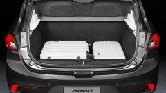 Nuova Fiat Argo: il bagagliaio è da 300 litri in configurazione 5 posti