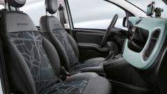 Nuova Fiat Panda Hybrid Launch Edition: i sedili in tessuto riciclato eco-compatibile