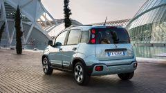 Nuova Fiat Panda Hybrid Launch Edition: una vista del 3/4 posteriore