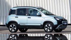 Nuova Fiat Panda Hybrid: realizzata sulla base della City Cross