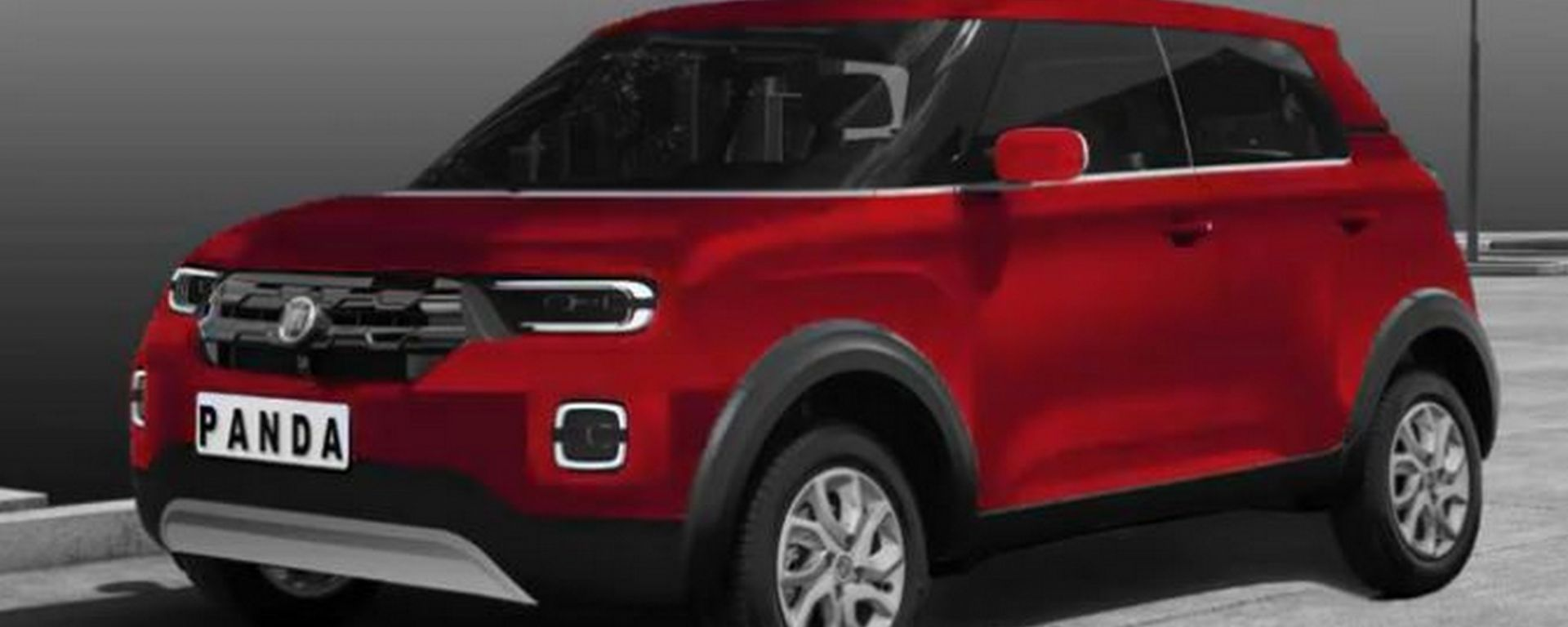 Nuova Fiat Panda, il rendering di CARWP by Jonathan Machado