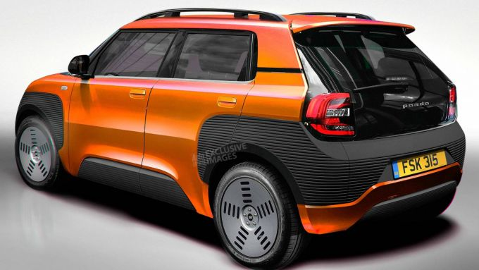 Nuova Fiat Panda, un render: sarà così?