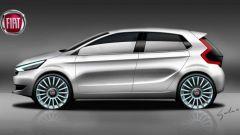 Nuova Fiat Punto: uno dei vecchi rendering che circolano in Rete