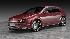 Nuova Fiat Ritmo vs nuova Golf, confronto virtuale. I render