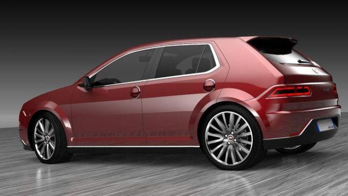 Nuova Fiat Ritmo, i rendering di Paolo Schermi
