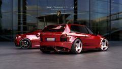 Nuova Fiat Uno Turbo: base meccanica di Alfa Romeo 4C
