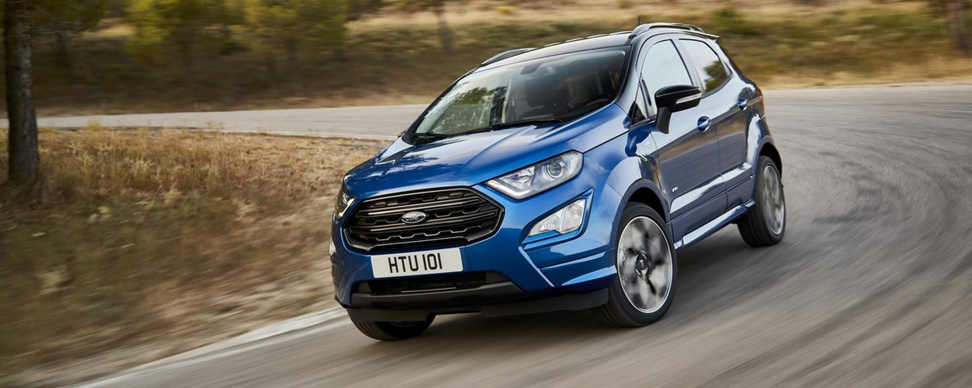 Ford EcoSport 2018: SUV 4x4 a tutta...Fiesta! [VIDEO]