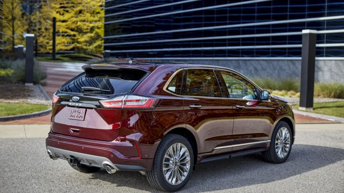 Nuova Ford Edge 2021 Titanium Elite