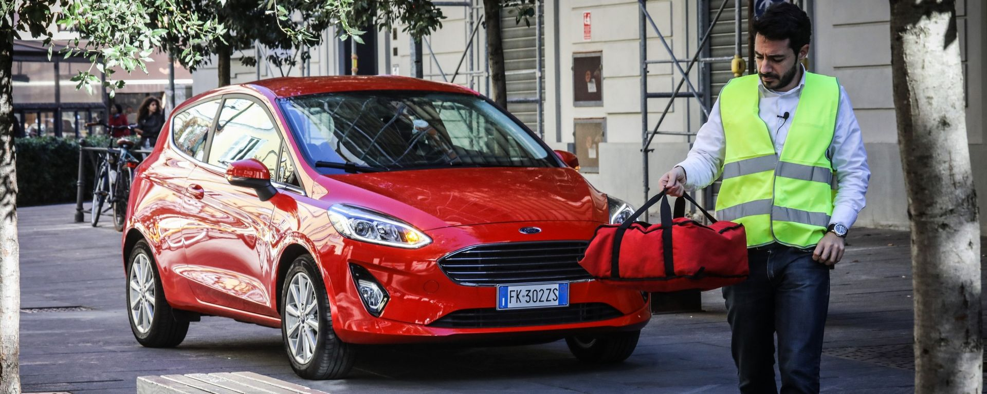 Nuova Ford Fiesta: c'è pizza per te