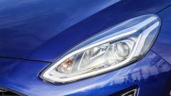 Nuova Ford Fiesta 2018 - dettaglio fari