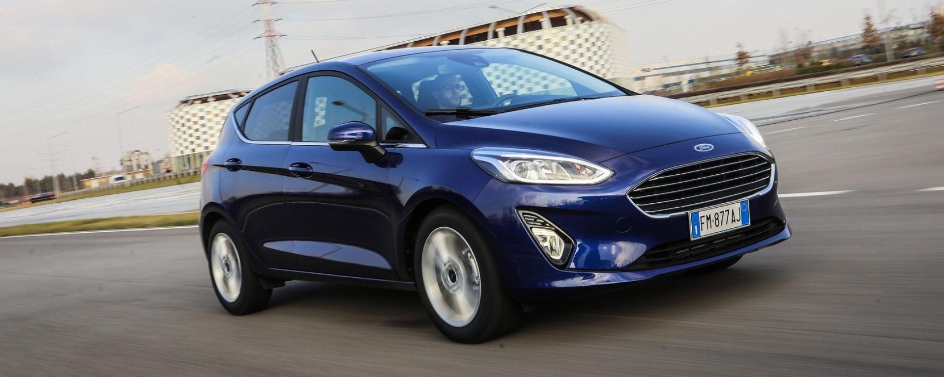 Ford Fiesta 2018: prova su strada 1.0 Ecoboost, 100CV ...