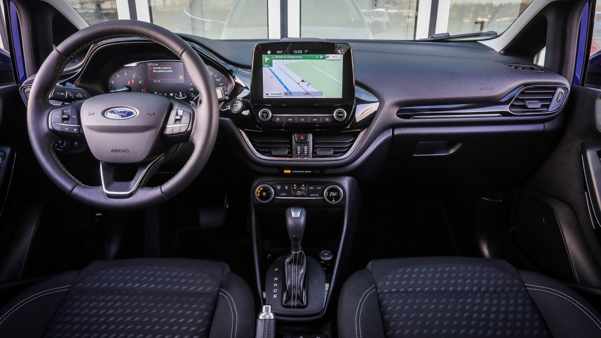 ford fiesta 2018  prova su strada 1 0 ecoboost  100cv