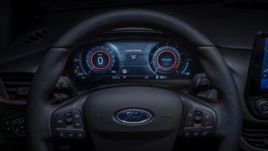 Nuova Ford Fiesta 2021: il nuovo cruscotto digitale