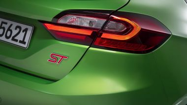 Nuova Ford Fiesta 2021: particolare della sportiva ST