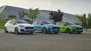 Nuova Ford Fiesta 2021: tutta la gamma
