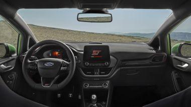 Nuova Ford Fiesta 2021, versione ST: il posto guida