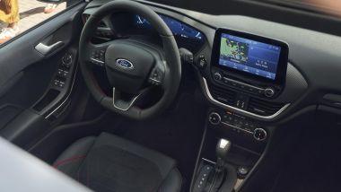 Nuova Ford Fiesta 2021, versione ST-Line: il posto guida