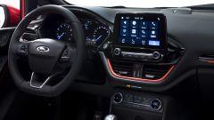 Nuova Ford Fiesta: il monitor touch capacitivo del sistema di infotainment Sync 3