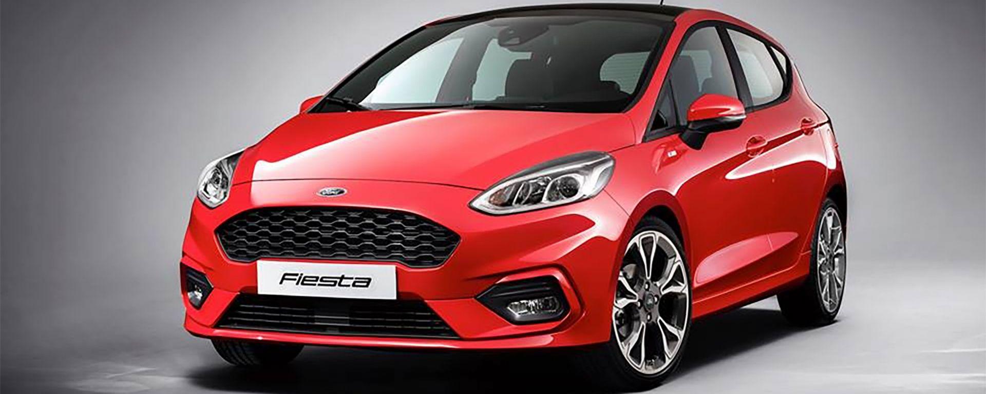 Nuova Ford Fiesta: la prima foto ufficiale