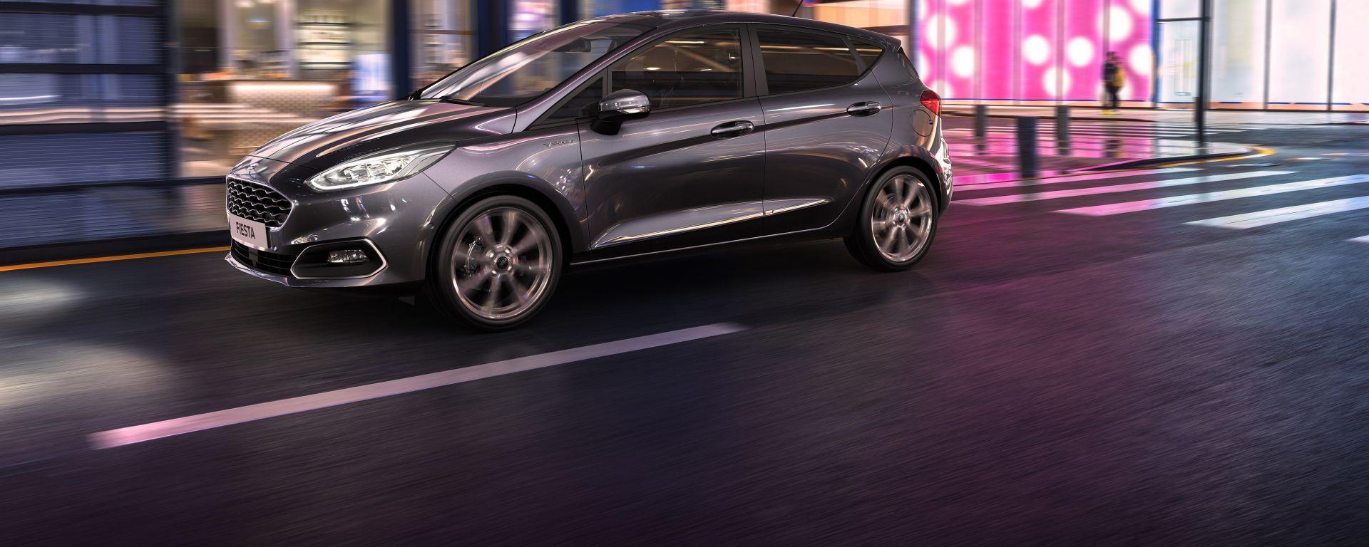 Nuova Ford Fiesta MHEV