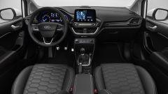 Nuova Ford Fiesta Vignale, gli interni rivestiti in pelle pieno fiore