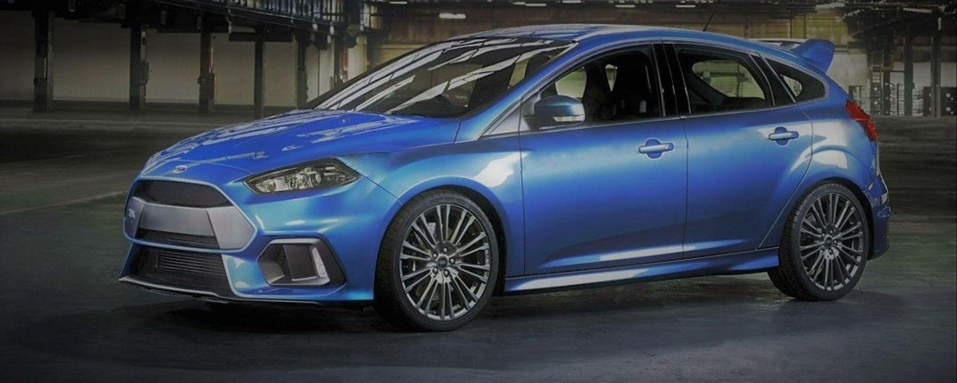 Nuova Ford Focus 2018: la versione RS sarà ibrida da almeno 400 CV