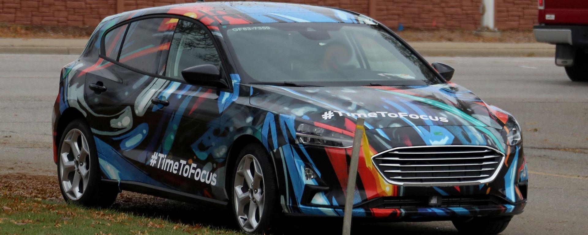Nuova Ford Focus: le foto-spia della hatchback