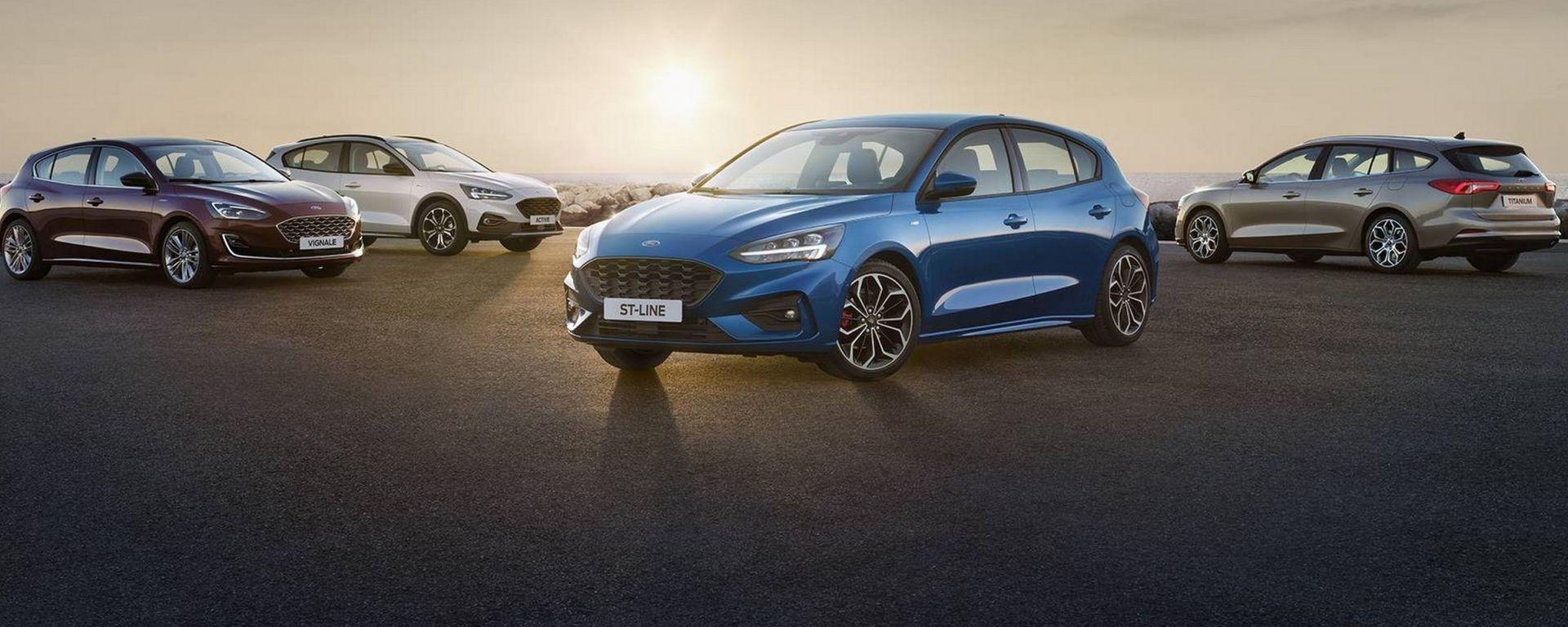 Nuova Ford Focus, ecco come cambia: tutte le immagini e info